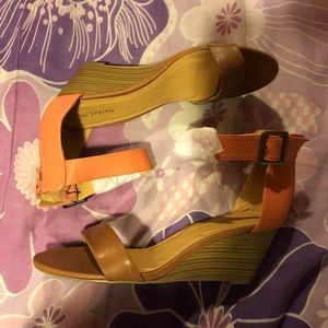 NWOT CALL IT SPRING Wedge Sandals